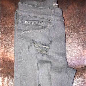 Destroyed EXPRESS 4R Jeans black- like new